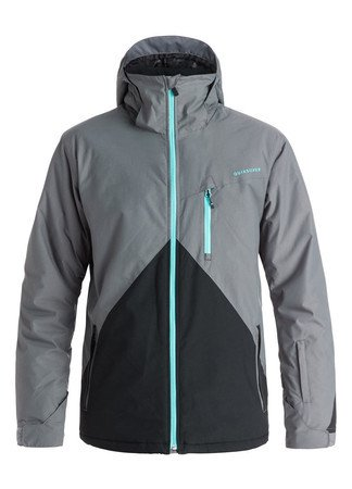 Quiksilver Snowjacket Mission Colorblock 16/17 grey