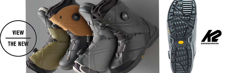 K2 Boots - neu und innovativ